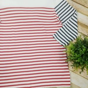 Lauren Ralph Lauren Tops - Lauren Ralph Lauren Striped Blouse Top